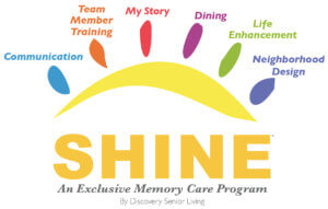 Shine memory care program