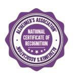 Shine national recognition badge
